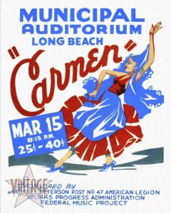 Opera Carmen in Long Beach - Restored