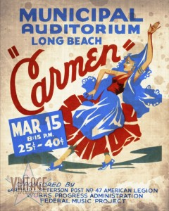 Opera Carmen in Long Beach - Vintagelized