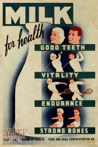 Milk for Health - Vintagelized