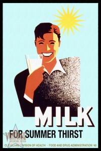 Milk for Summer Thirst - Restored