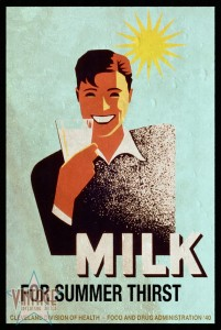 Milk for Summer Thirst - Vintagelized