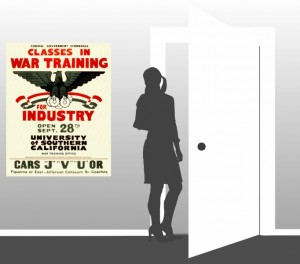 Classes in War Training for Industry - Scale