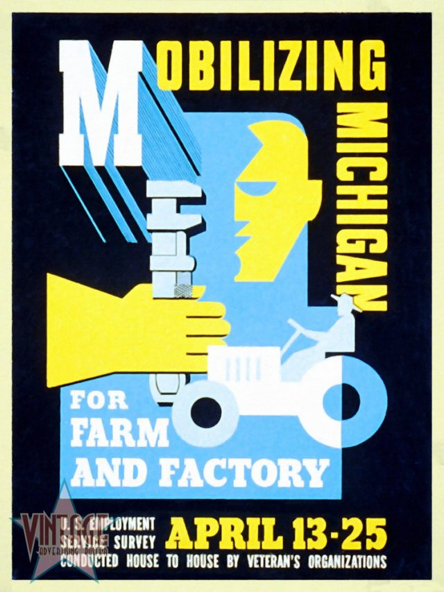 Mobilizing Michigan for Farm and Factory - Restored