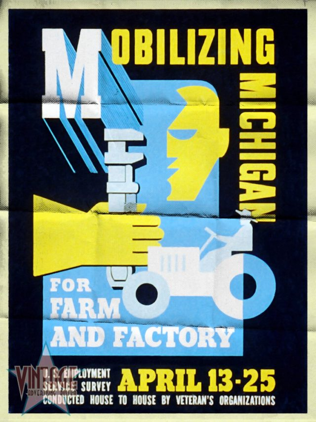 Mobilizing Michigan for Farm and Factory - Folded