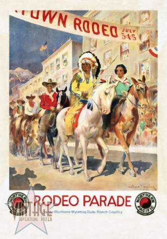 Rodeo Parade - Restored