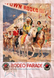 Rodeo Parade - Folded