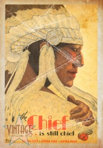 The Chief Train - Folded