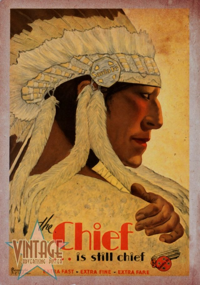 The Chief Train - Vintagelized