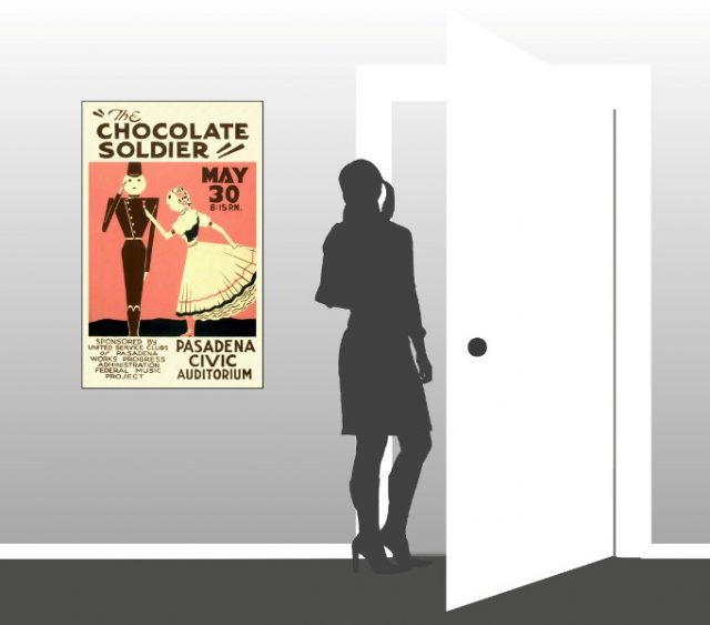 The Chocolate Soldier - Scale
