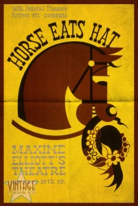 Horse Eats Hat - Maxine Elliot's Theatre - Folded