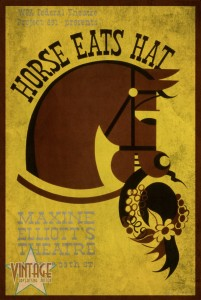 Horse Eats Hat - Maxine Elliot's Theatre - Vintagelized