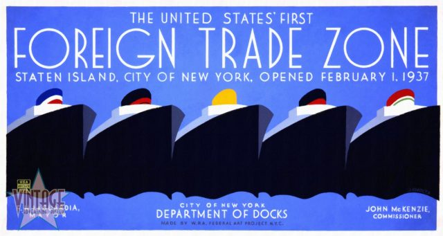 The United States' First Foreign Trade Zone - Restored