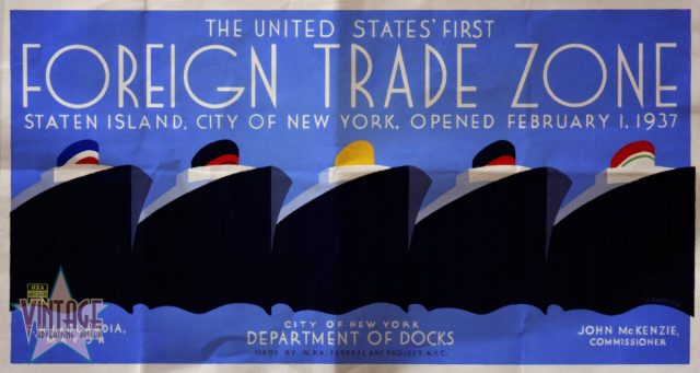 The United States' First Foreign Trade Zone - Folded