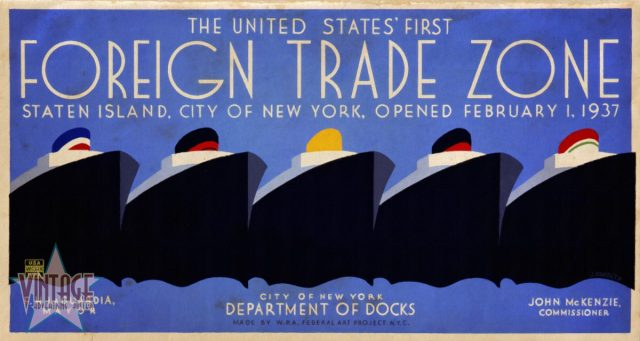 The United States' First Foreign Trade Zone - Vintagelized