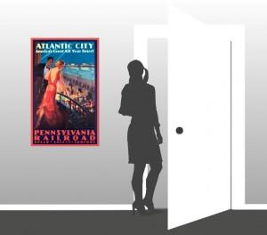 Atlantinc City - America's Great All Year Resort - Scale