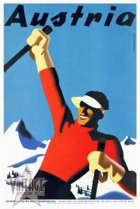 Austria Ski Tourism - Restored