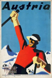 Austria Ski Tourism - Vintagelized