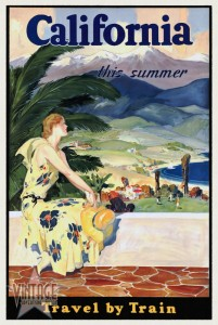 California This Summer - Travel by Train - Restored