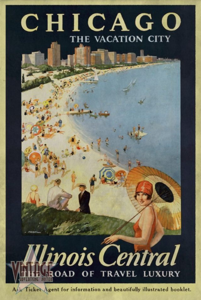 Chicago The Vacation City - Vintagelized