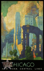 Chicago - New York Central Lines - Vintagelized