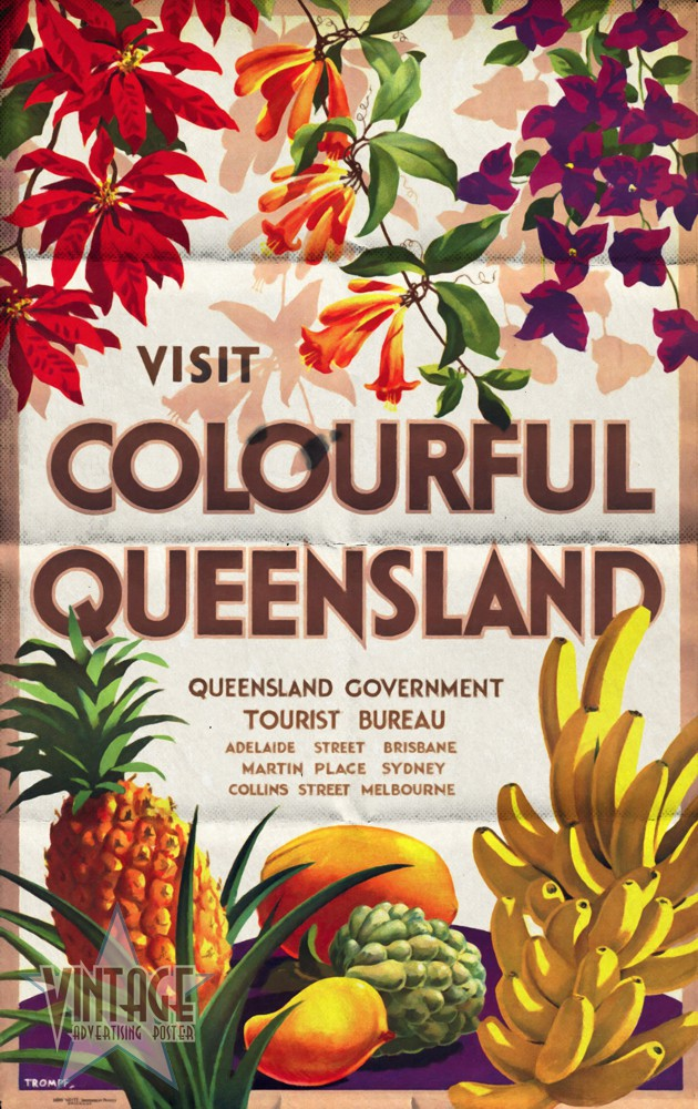 Visit Colorful Queensland - Folded