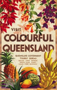Visit Colorful Queensland -  Vintagelized