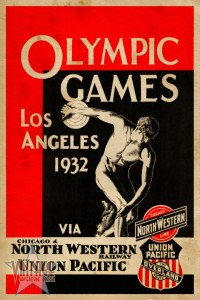 Olympics Games Los Angeles 1932 - Vintage Poster - Vintagelized