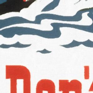 Lake Winnipesaukee - Vintage Poster - Texture
