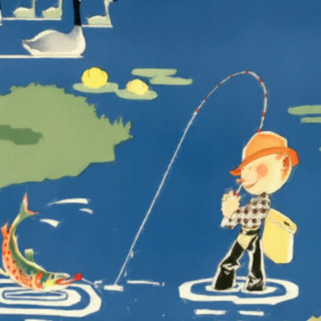 Eastern Canada and Newfoundland - Vintage Poster - Detail