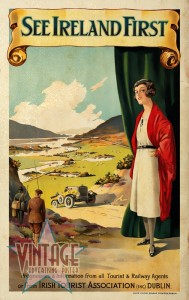 See Ireland First - Vintage Poster - Vintagelized